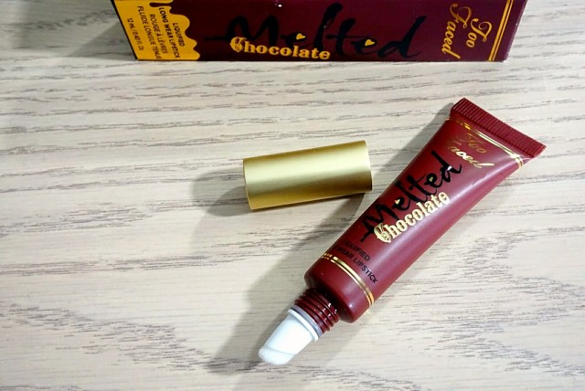Too Faced Chocolate Cherries Melted Chocolate Liquified Lipstick