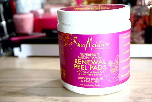 Shea Moisture Superfruit Multivitamin Renewal Peel Pads