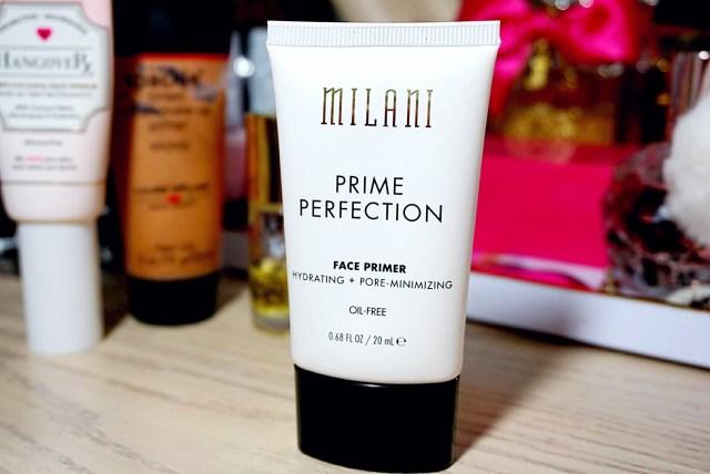5 Primers for Dry Skin: Milani Prime Perfection Hydrating + Pore-Minimizing Face Primer