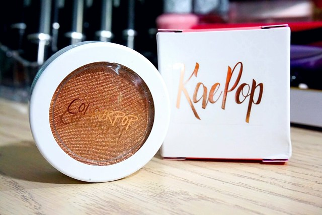ColourPop x Karrueche Glo Up Super Shock Cheek