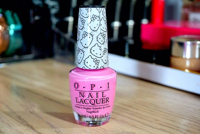 OPI Hello Kitty Look At My Bow! Nail Polish