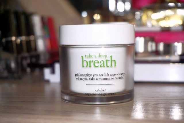 Philosophy Take a Deep Breath Oil Free Oxygenating Gel Cream