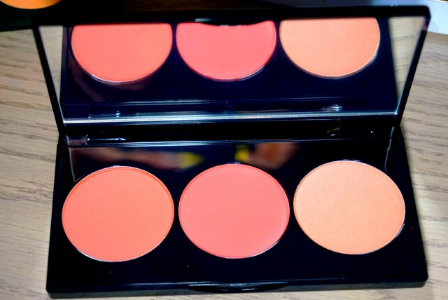 Smashbox Culver City Coral L.A. Lights Blush & Highlight Palette