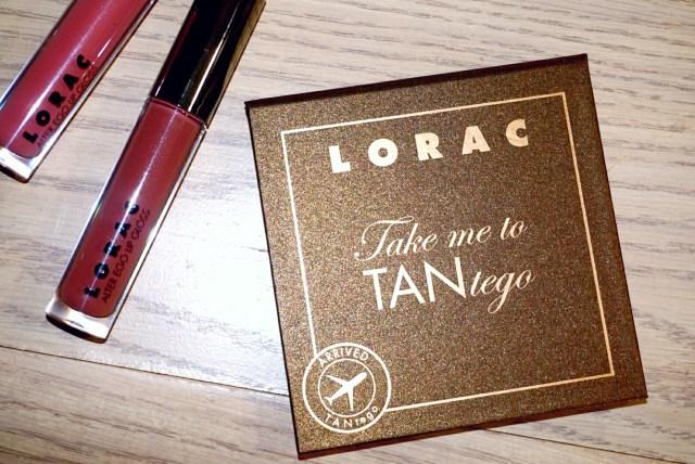 LORAC Take Me To TANtego TANtalizer Bronzer Palette