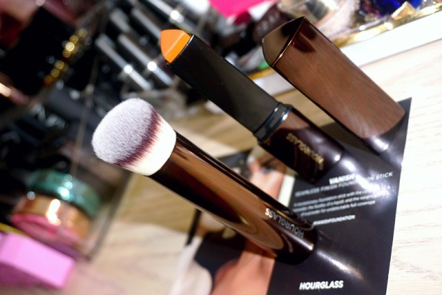Hourglass Vanish Foundation Stick in Walnut and Vanish Seamless Finish Foundation Brush