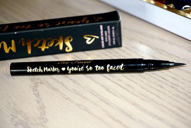 Too Faced Black Sketch Marker Liquid Art Eyeliner