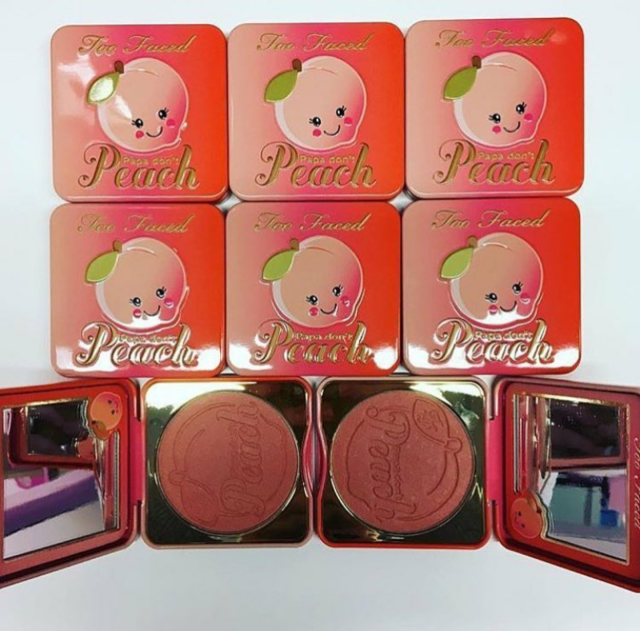 Too Faced Papa Don't Peach Sneak Peek