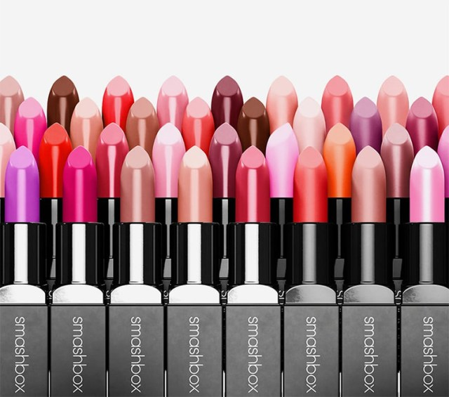 Smashbox Be Legendary Lipsticks now in 120 Shades