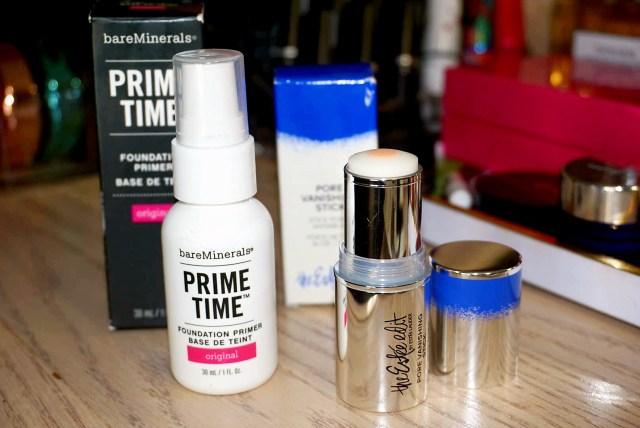 Bare Minerals Prime Time Original, Estee Edit Pore Vanishing Stick
