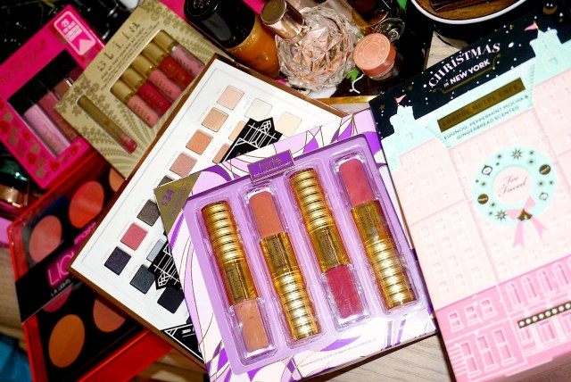 Butter London Fancy-full Lippy Liquid Lipstick Collection, Stila Stay All Day Sparkle All Night Lipstick Set, Smashbox L.A. Lights Palette, LORAC Mega Pro 3 Palette, Tarte The Kissing Squad Lip Sculptor Quad, Too Faced Grand Care Hotel