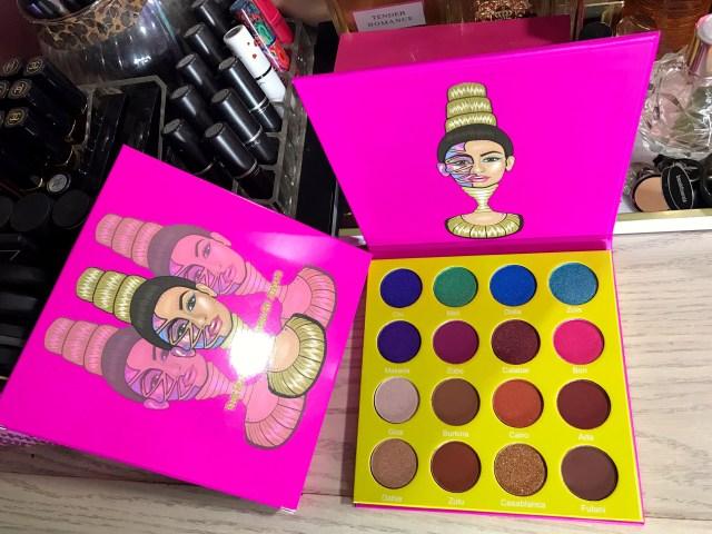 Juvia's Place Mini Masquerade Palette Swatches