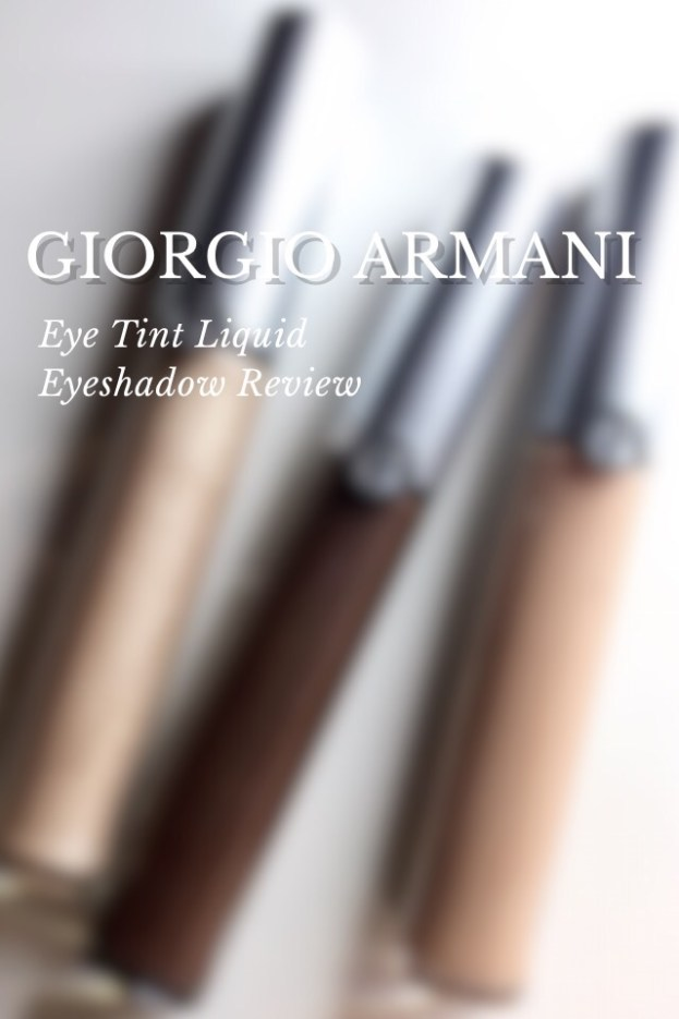 Armani Eye Tints in 12 Gold Ashes, 21 Nude Smoke, 24 Fur Smoke Swatches on Dark Skin