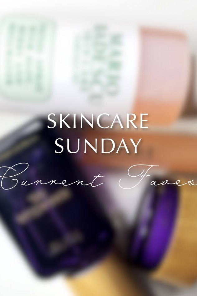 Skincare Sunday: Mario Badescu Facial Spray with Aloe Herbs and Rosewater, Tarte Maracuja C-Brighter Eye Treatment, Clinique All About Eyes Serum