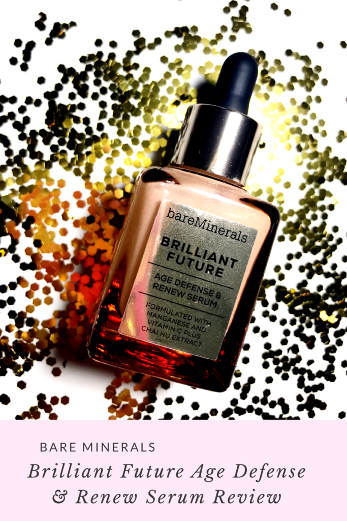Bare Minerals Brilliant Future Age Defense & Renew Serum Review