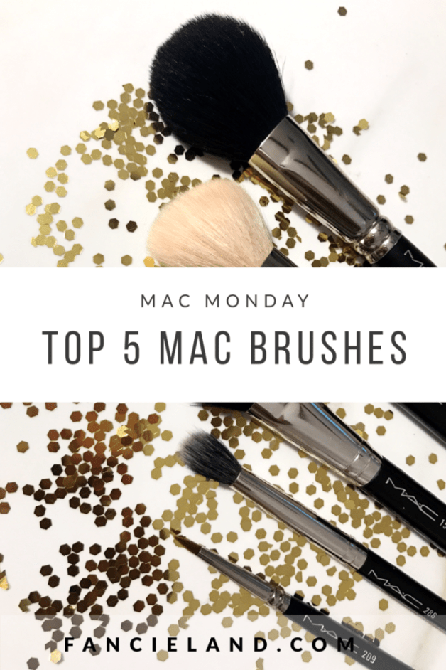 MAC 129, 168, 159, 286, 209 Makeup Brush Review