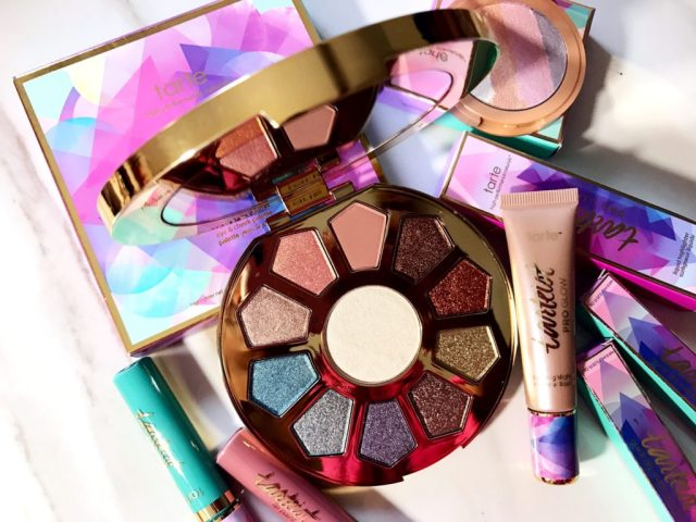 Tarte Make Believe In Yourself Eye and Cheek Palette Review Swatches on Dark Skin