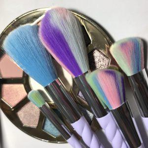 Rainbow Unicorn Magic 5 Piece Makeup Brush Set
