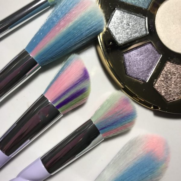 Rainbow Unicorn Magic 5 Piece Makeup Brush Set