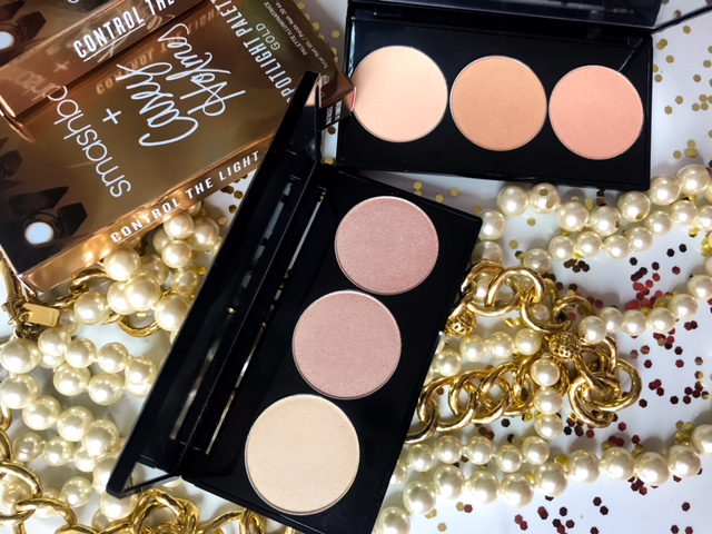 Smashbox x Casey Holmes Spotlight Palette Swatches on Dark Skin