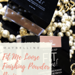Maybelline Fit Me Loose Finishing Powder 35 Deep 40 Dark Swatches on Dark Skin Brown Skin