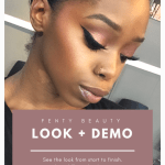 Fenty Beauty Full Face Demo on Dark Skin Brown Skin WOC