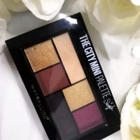 Maybelline x Shayla City Mini Eyeshadow Palette Swatches