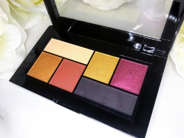 Maybelline x Shayla City Mini Eyeshadow Palette Swatches on Dark Skin