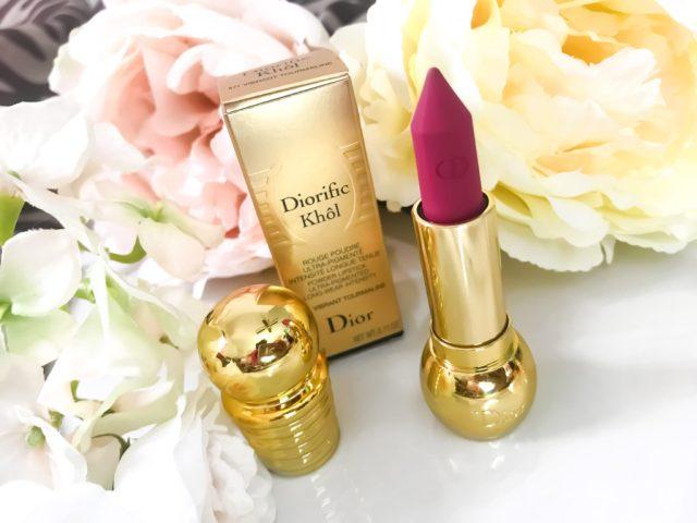 Dior Diorific Kohl Lipstick 751 Intense Garnet, 671 Vibrant Tourmaline Swatches on Dark Skin