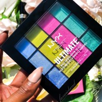 NYX Ultimate Multi-Finish Electric Shadow Palette Swatches & Review