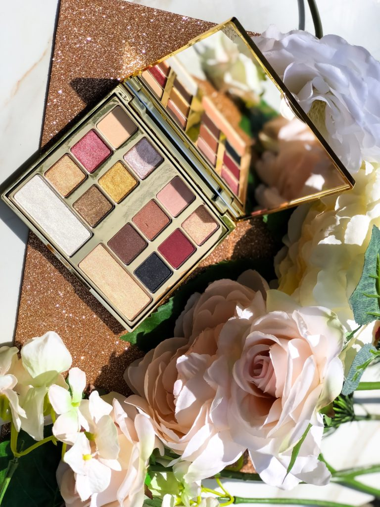 Milani Gilded Desires Eye and Face Palette Swatches Review Dark Skin