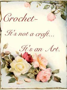 crochet an art