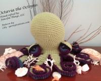 Octavia the Octopus crochet amigurumi