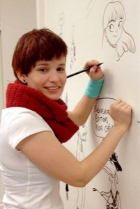 Mai Egurza (1986), ilustradora infantil y cómic