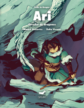 Portada de Ari, cazador de dragones