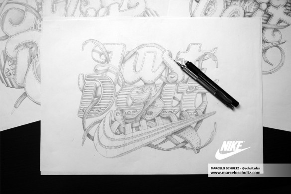 Daily Tee Nike Just Do It T Shirt Design By Marcelo