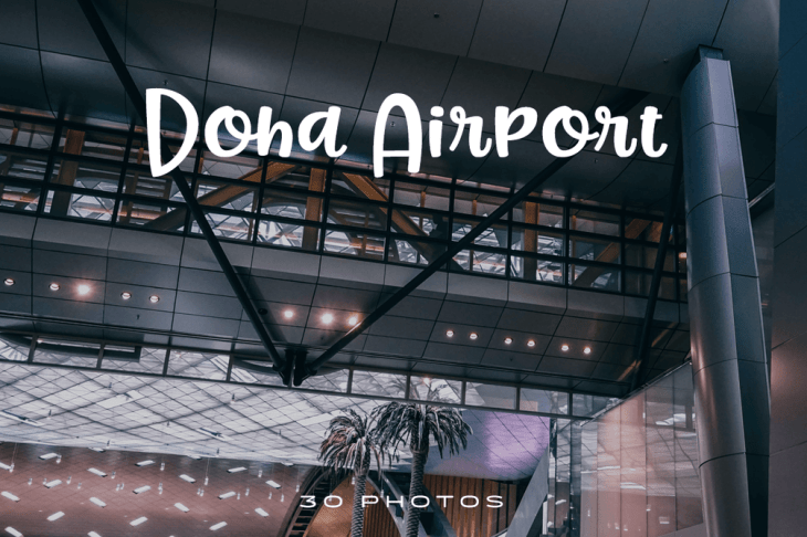 Doha Airport Photo Pack Cover