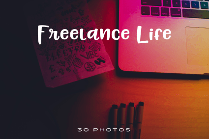 Freelance-Life-Photo-Pack