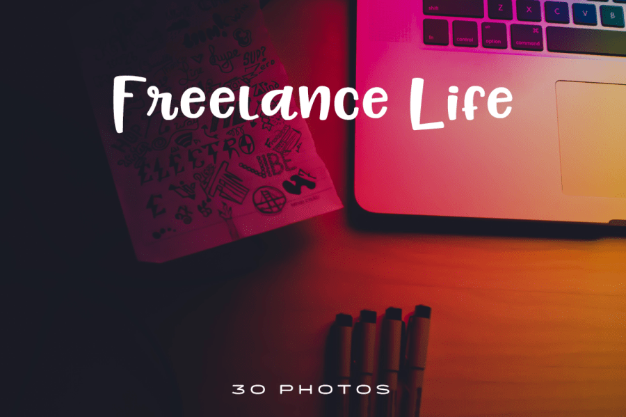 In celebration of our 1 year anniversary, check out these beautiful and handy high-resolution photos of the freelance life.