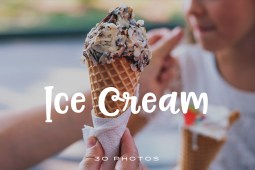 Ice Cream Photo Pack