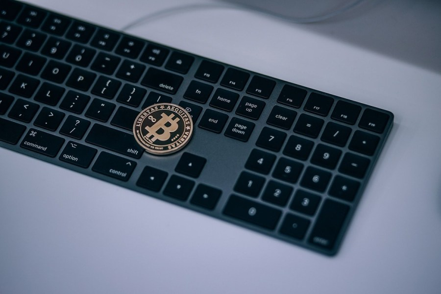 Apple-Keyboard-with-BTC-on-Top-min