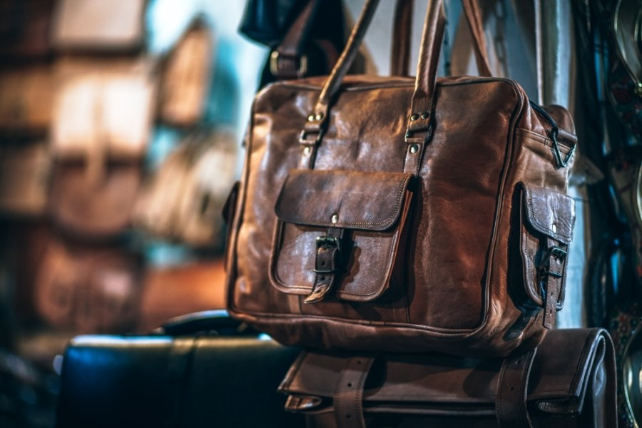 Brown-Original-Leather-Square-Bag-with-Extra-Pockets-on-Both-Sides