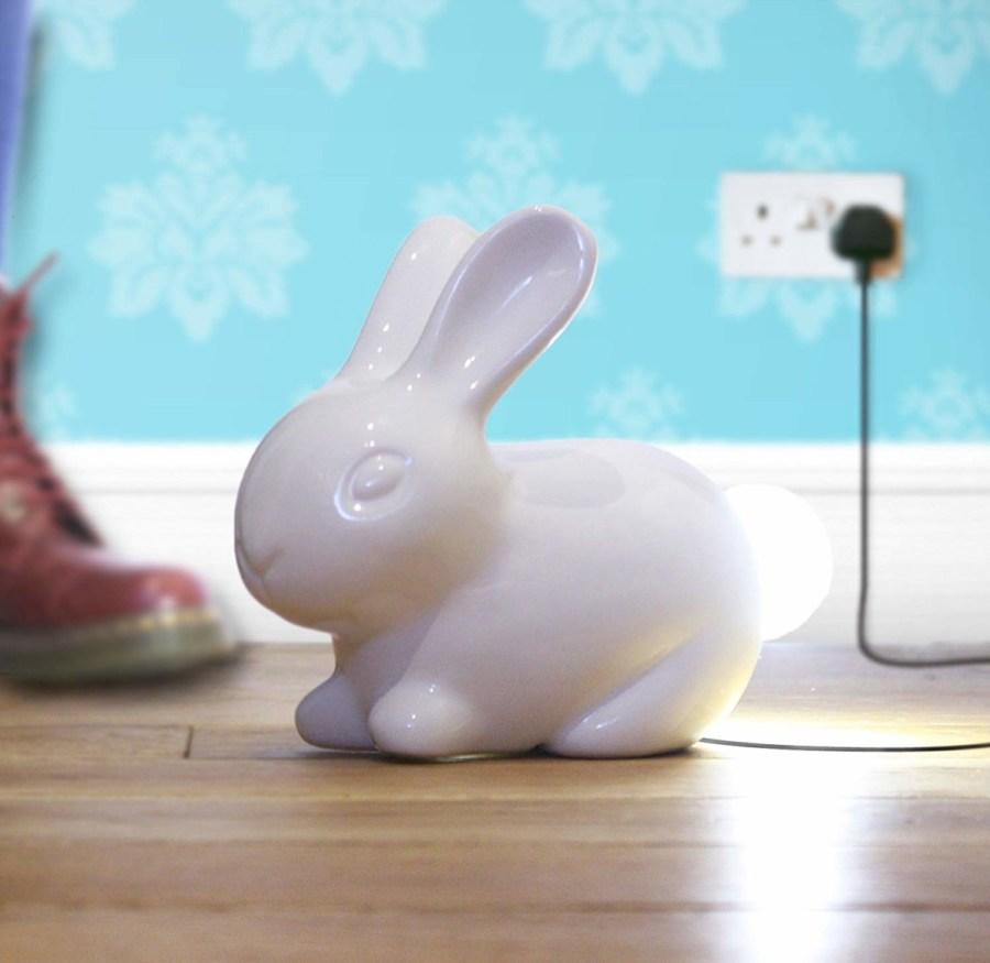 Ceramic-Bunny-Lamp