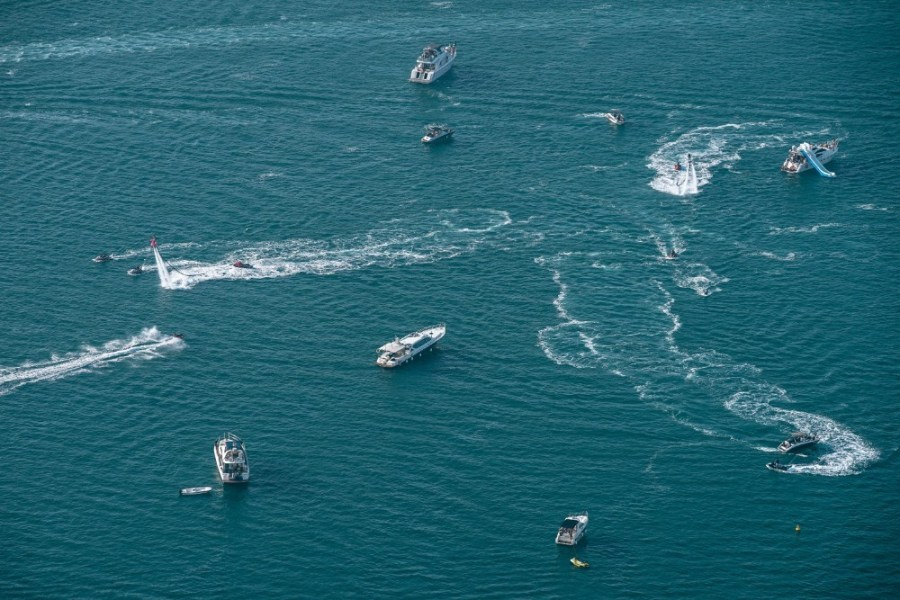 Different-Boats-and-Jet-Skis-in-the-Water