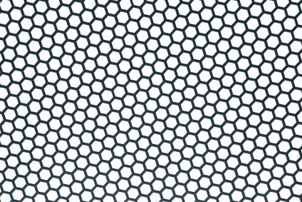 Hexagon-Pattern-in-Black-and-White