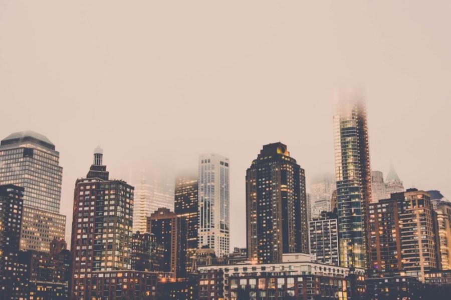 New-York-City-Skyline-at-Sunset