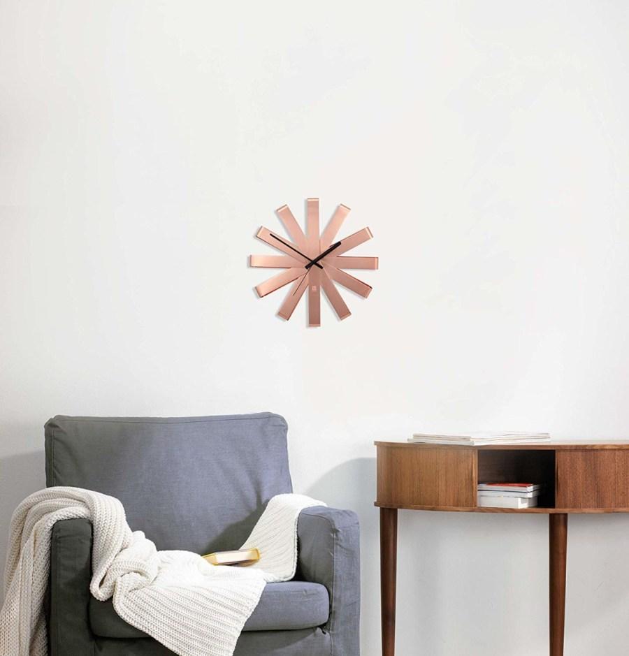 Umbra-Ribbon-Wall-Clock