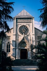 Beautiful-White-Christian-Church