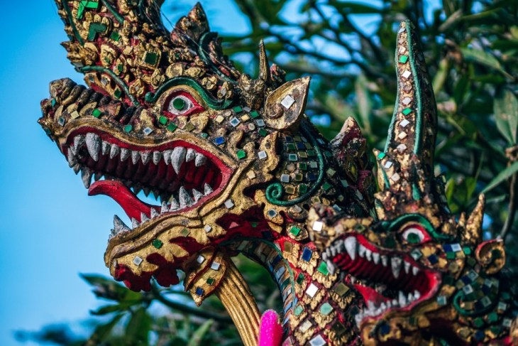 Colorful-Dragon-Statue-at-Doi-Suthep-Temple
