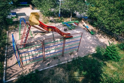 Kid's-Playground-in-Yalta-Photographed-from-Above