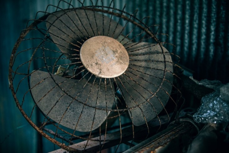 Old-Abandoned-Fan-with-a-Rusty-Frame